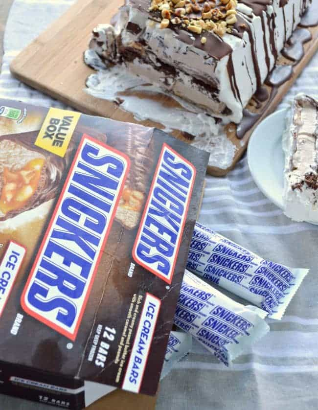 Snickers Ice Cream Bars