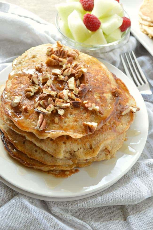 My Favorite Banana Oat Pancakes Recipe