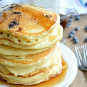 Homemade Fluffy Pancake Mix