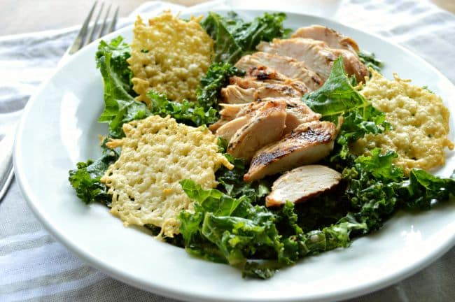 Copycat Panera Power Kale Caesar Salad Recipe