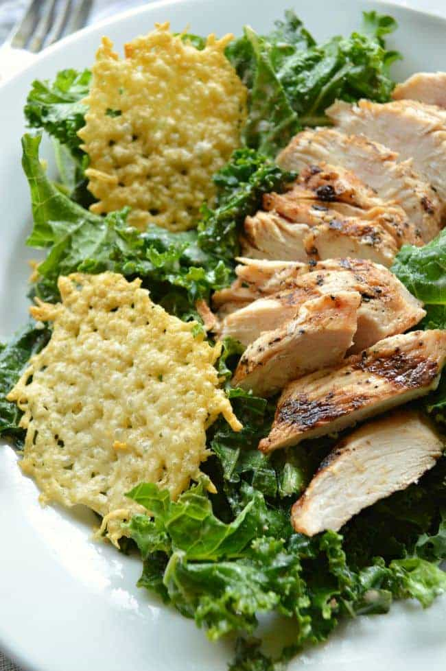 Chicken Caesar Power Salad Recipe