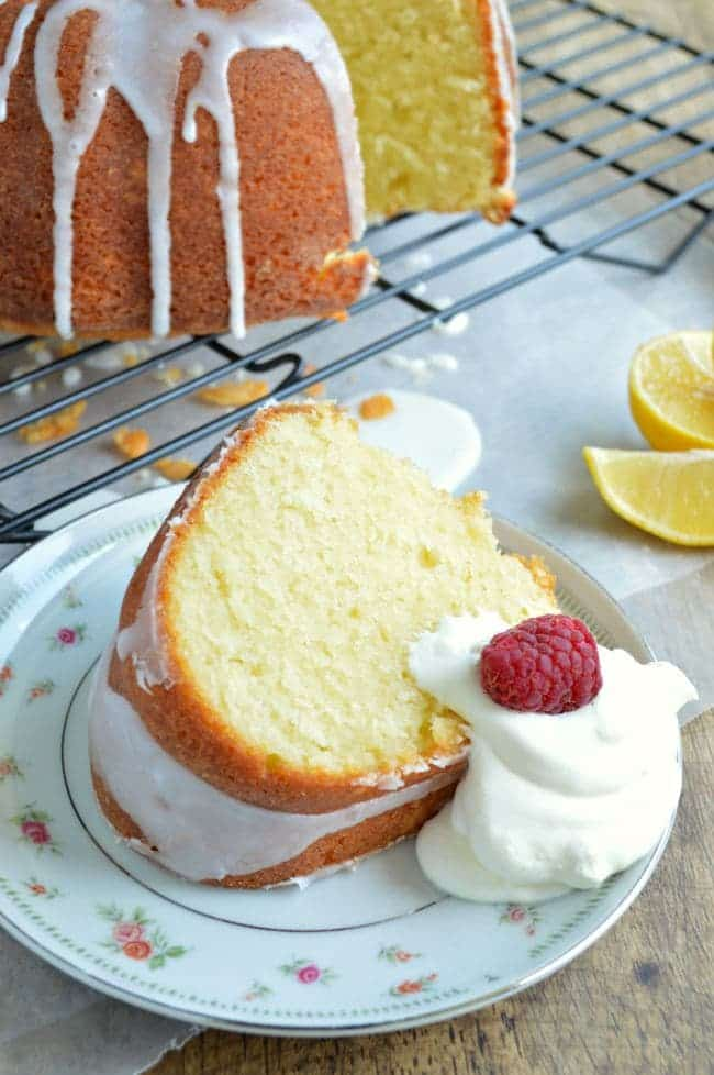 Pound Cake with Greek yogurt