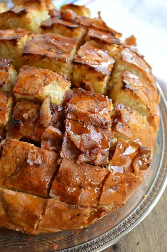 French Toast Pull Apart Bread