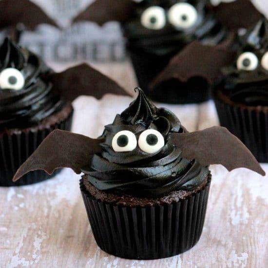 Easy Bat Cupcake Recipe