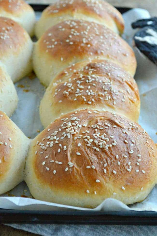 Easy Homemade Brioche Burger Buns