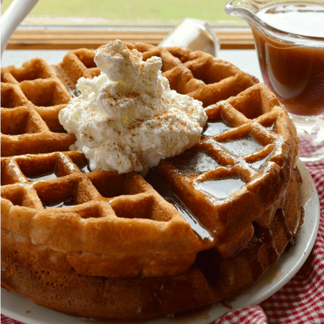 Apple Butter Waffles Recipe