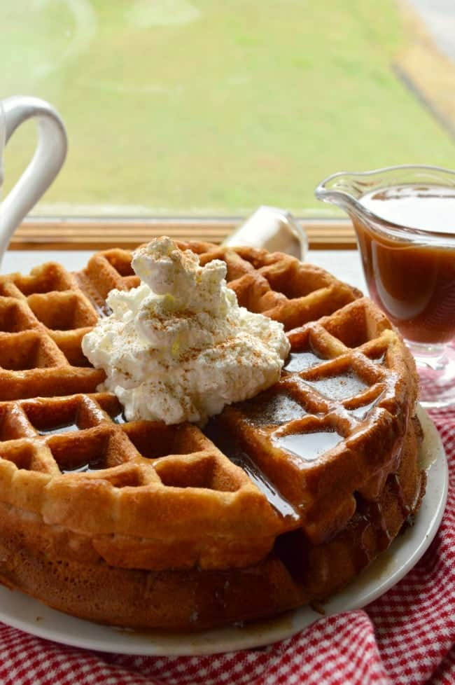 Apple Butter Waffle Recipe