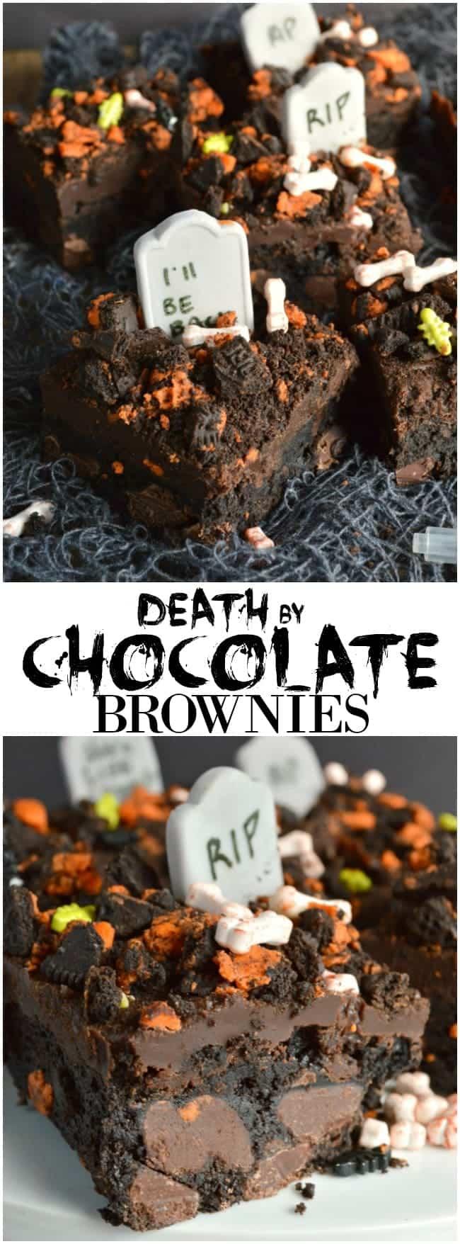 Death by Chocolate Brownies - Sugar Dish Me