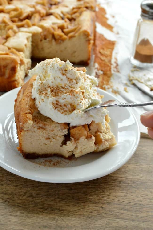Peanut Butter Apple Cheesecake Recipe