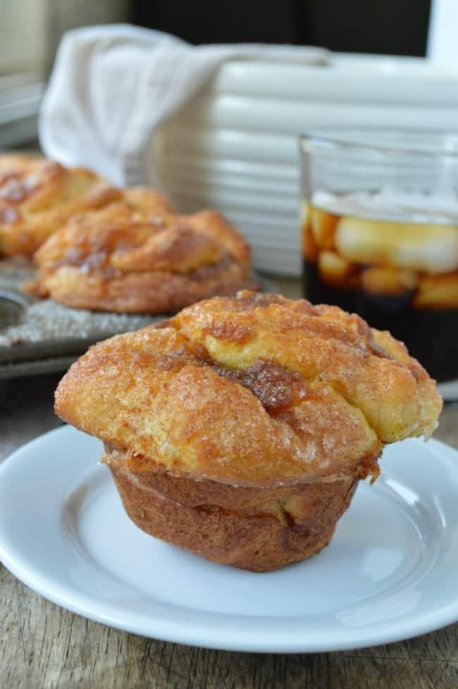 Pumpkin Pull Apart Muffins Recipe