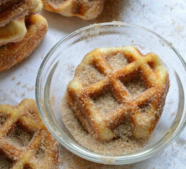 Cinnamon Sugar waffle Biscuit Recipe