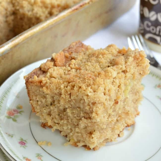 Brown Butter Banana Coffee Cake Recipe