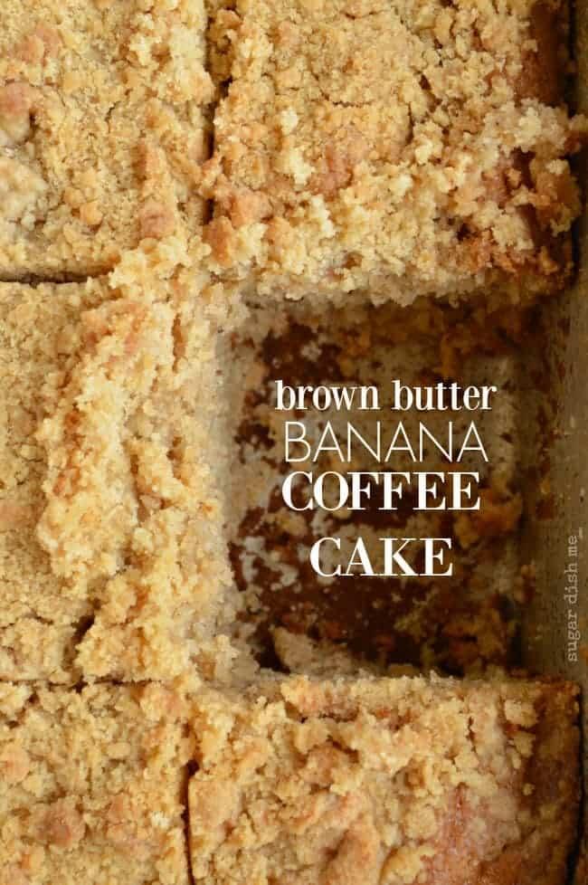 Brown Butter Banana Coffee Cake recipe