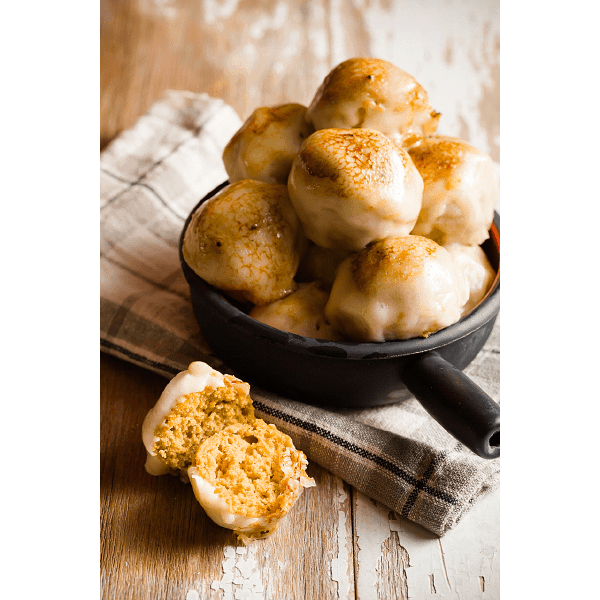 Sweet Potato Casserole Donut Holes - Cupcake Project
