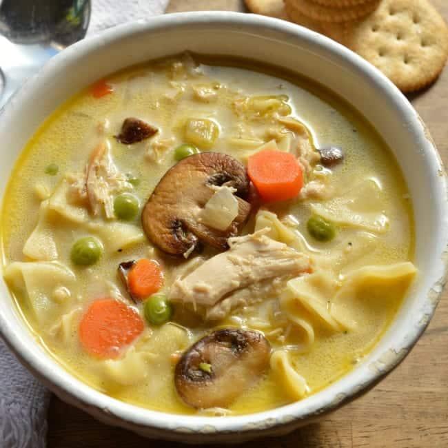 Turkey Tetrazzini Soup Recipe