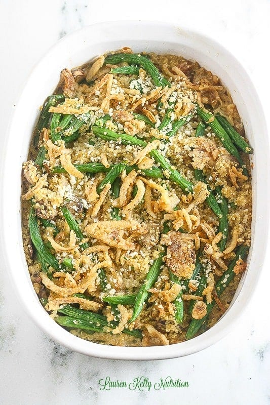 ... green bean casserole the vegan gluten free sequel triple cheddar green
