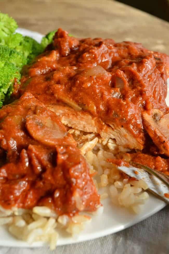 Easy Chicken Paprika Recipe