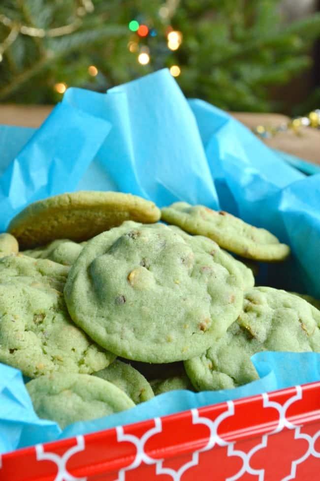 Pistachio Pudding Cookies Sugar Dish Me
