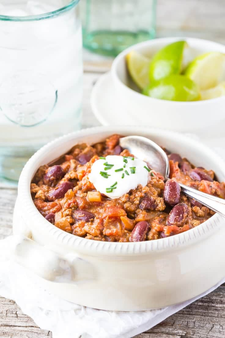 25 Chili Recipes To Keep You Warm Sugar Dish Me