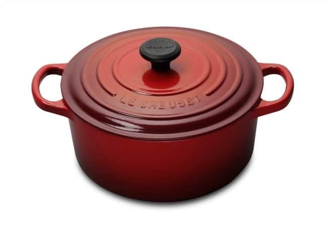 4.5 Qt. Cherry Dutch Oven from Le Creuset