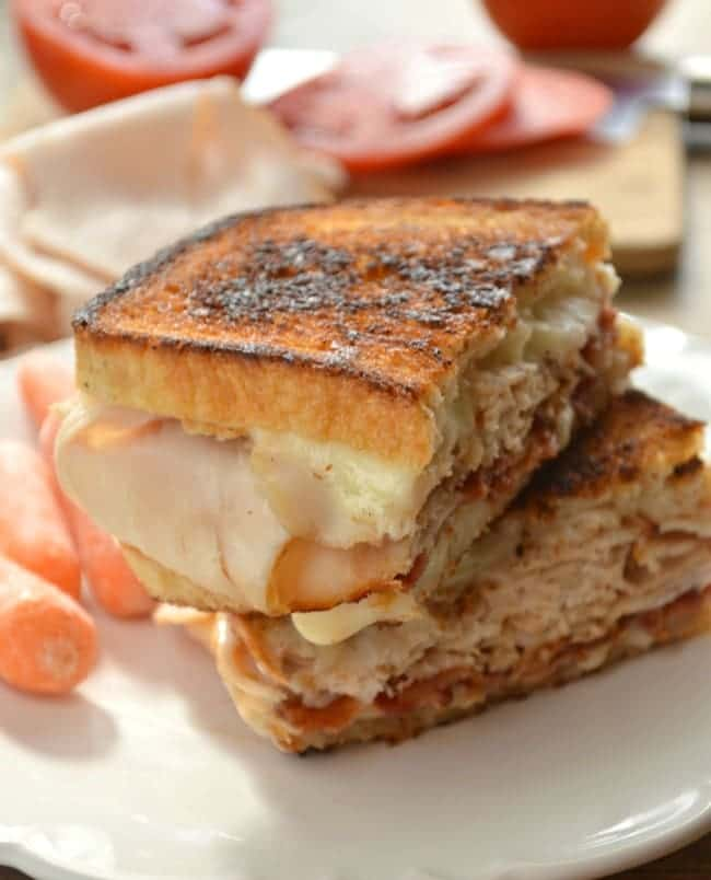 Grilled Cheese with Bacon and Tomato Recipe