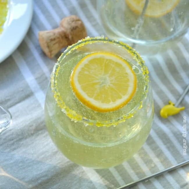 Meyer Lemon Mimosa recipe