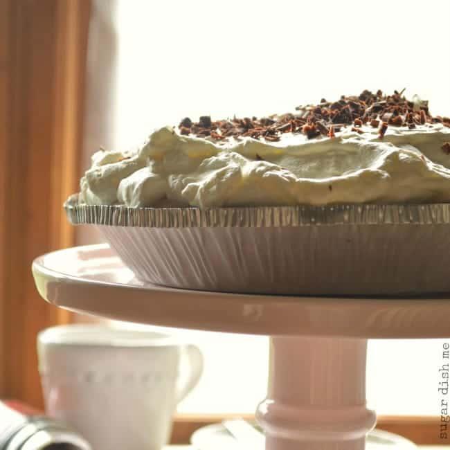 No Bake Mocha Latte Pie