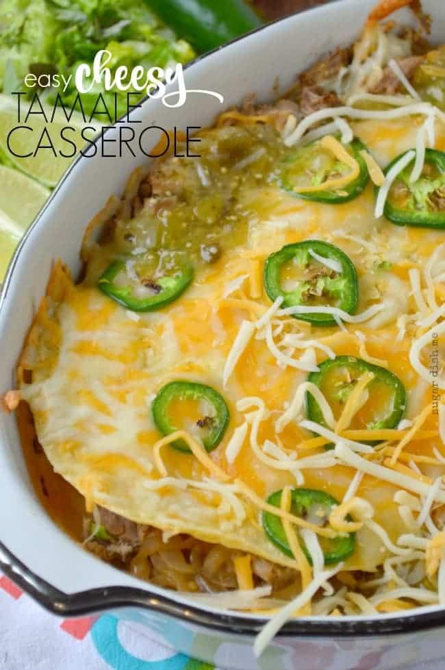 Easy Cheesy Tamale Recipe