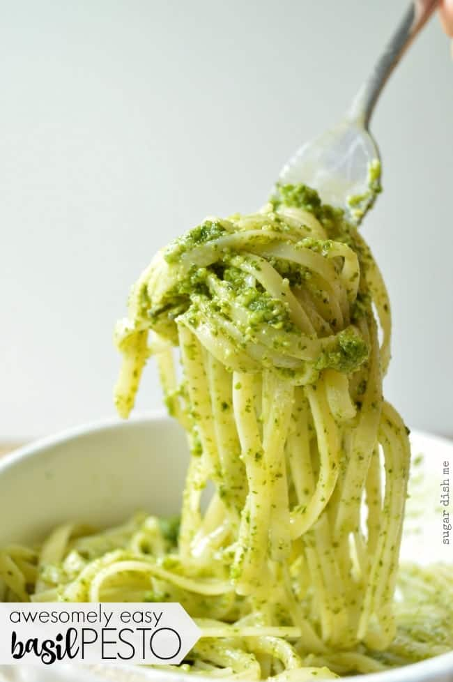 Easy Basil Pesto Recipe