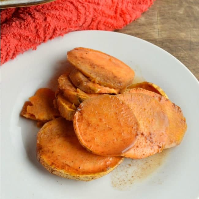 Cider Baked Sweet Potatoes