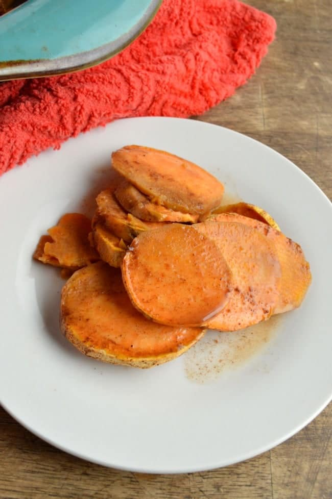 Cider Baked Sweet Potato Recipe