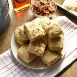 Low Calorie Maple Pecan Scone Recipe