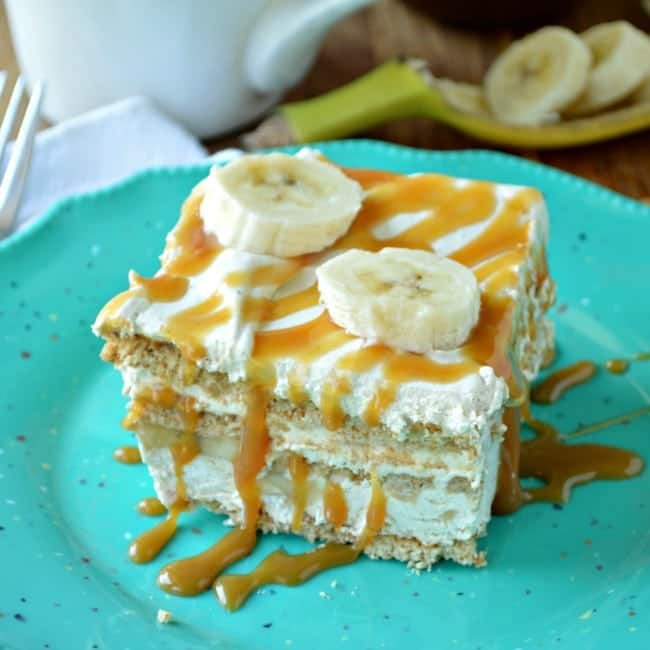 Banana Spice Icebox Cake