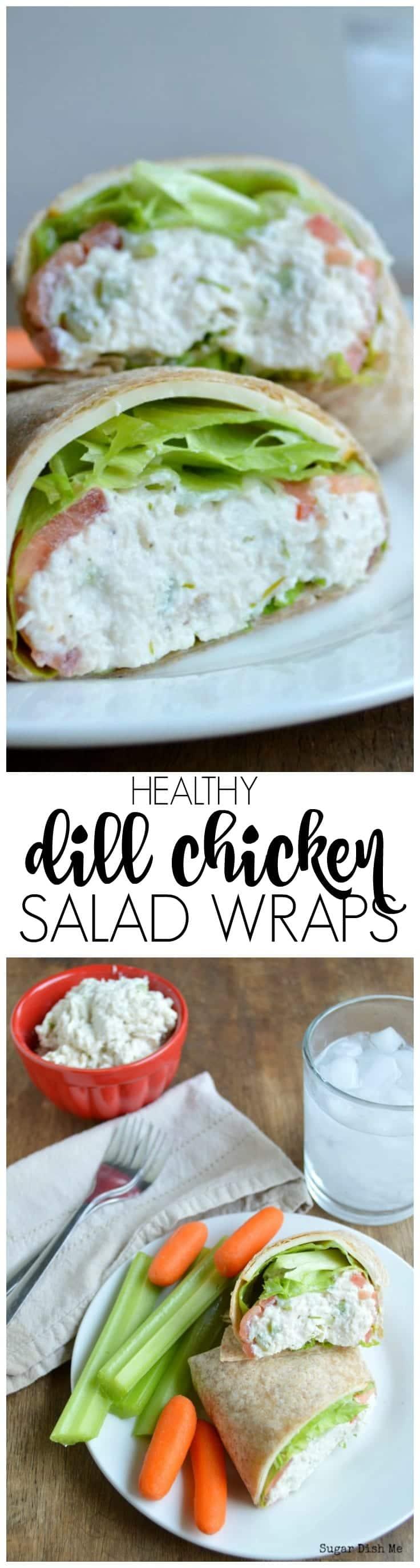 Dill Chicken Salad Sandwiches Recipe — Dishmaps