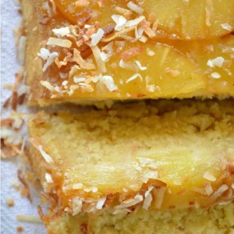 Piña Colada Upside Down Cake