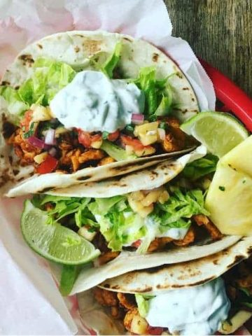 Pineapple Chicken Tacos Recipe