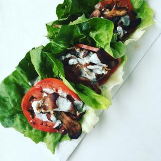 BLT Lettuce Wraps Recipe