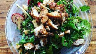 Balsamic kale Power salad