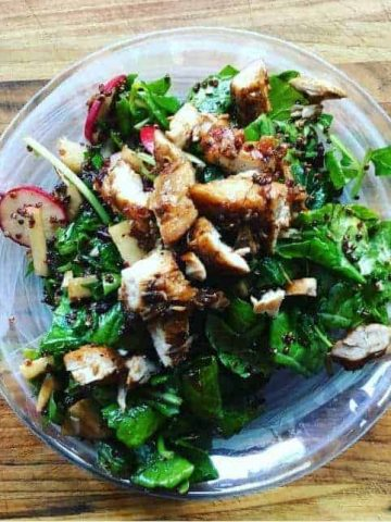 Balsamic kale Power salad