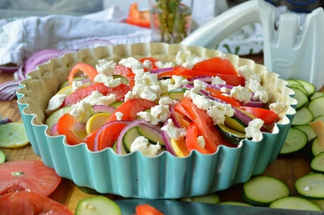Best Vegetable Tart Recipe