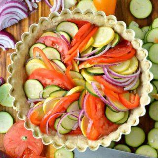 Delicious Vegetable Tart Recipe