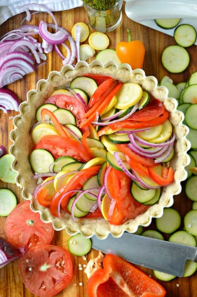 Delicious Vegetable Tart Recipe