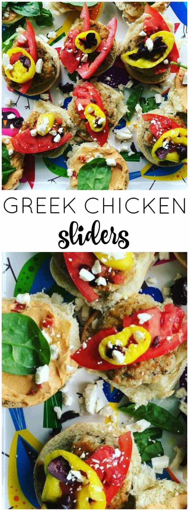 These Easy Greek Chicken Sliders are good for you, loaded with flavor, and are ready to eat in less than 30 minutes.