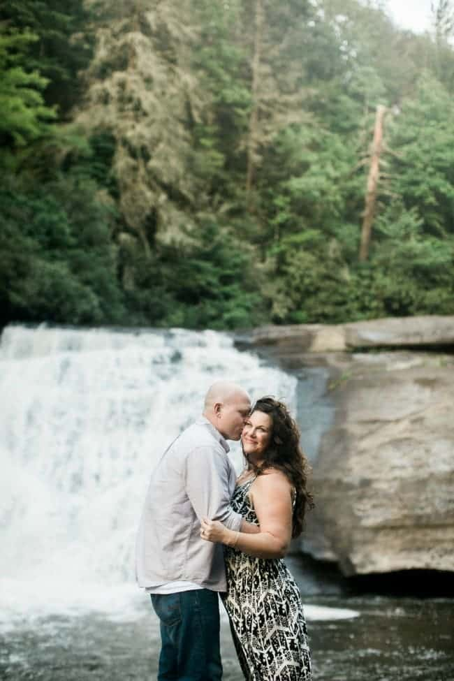 Engagement Photos Waterfall