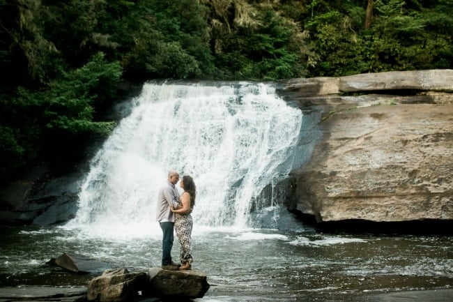 Engagement Photos in the NC Mountains