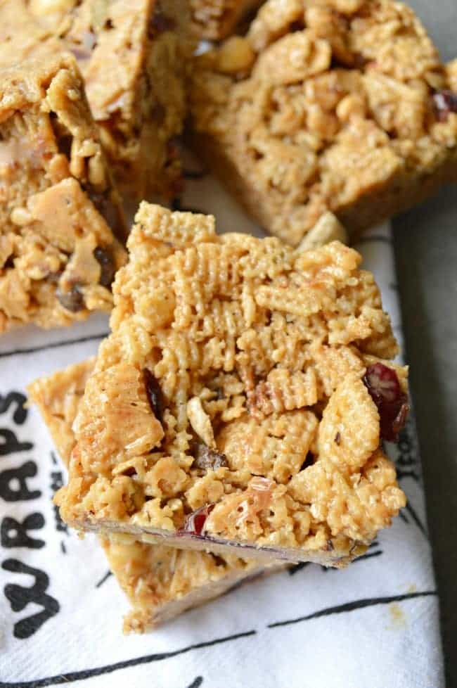 Easy Cereal Bar recipe