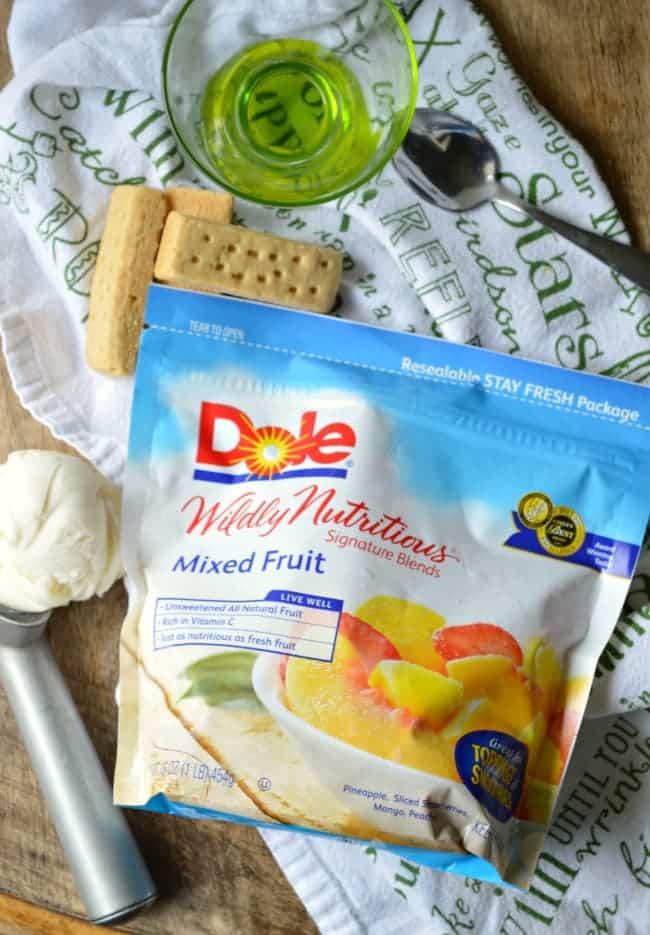 DOLE Frozen Fruit Recipe