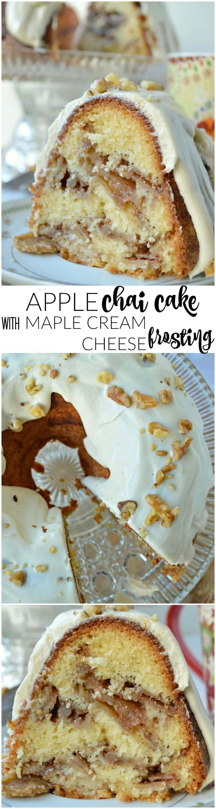 A dreamy Jewish apple cake with a spicy chai-inspired twist! This Apple Chai Cake is fall dessert perfection.