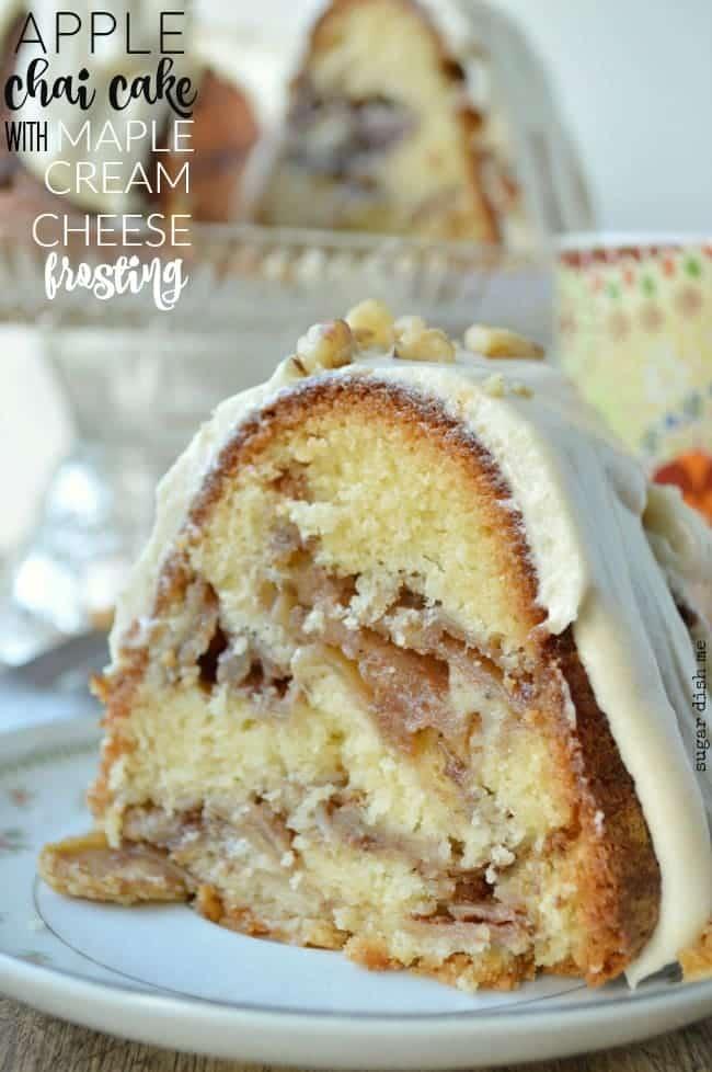 Jewish Apple Cake With Cream Cheese
