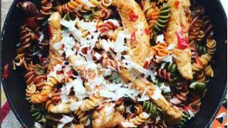 One Pot Chicken Tomato Pasta Recipe